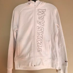 Columbia Texas A & M Women's Hoodie Large L
